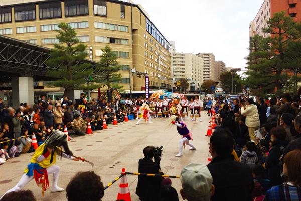 加賀獅子舞共演会2
